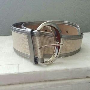 Unique silver belt